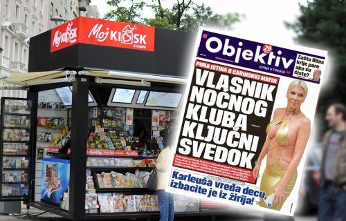 Danas u novinama Objektiv: Puna istina o carinskoj mafiji, Jelena Karleuša vređa decu… (NASLOVNA STRANA)