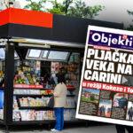 Danas u novinama Objektiv: Kokezina pljačka veka, ispovest korona nultog pacijenta… (NASLOVNA STRANA)