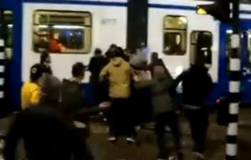 Ubijen vođa navijača pred ćerkom: Horor u centru Amsterdama! (VIDEO)
