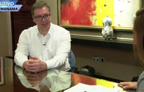 Vučić o PROTESTNOJ NOTI Hrvatske: Histerija zbog Dare iz Jasenovca, na svakih pola sata štancaju tekstove