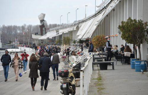 Beograd pod KLJUČEM, a ulice pune ljudi: Evo kako prestonica izgleda drugog dana pod OŠTRIJIM merama