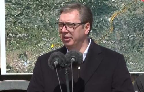 Predsednik Vučić u Lajkovcu: Nema zemlje u Evropi u kojoj se ovoliko gradi puteva (VIDEO)