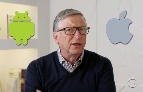 Android ili iOS: Bil Gejts otkrio koju platformu koristi (VIDEO)