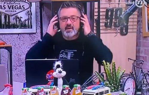 HAOS na Đilasovoj televiziji: Voditelj Darko Mitrović u programu uživo dao OTKAZ (VIDEO)