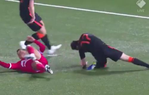 Jeziva povreda fudbalera Holandije: Snimak nije za one sa slabim stomakom (VIDEO)