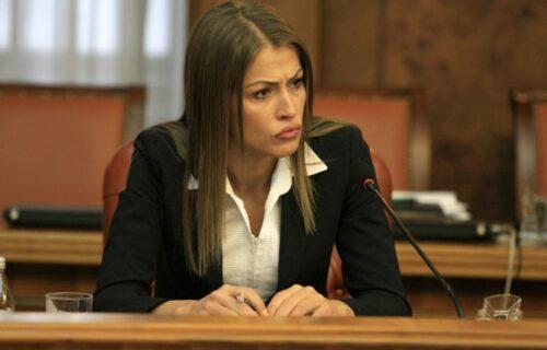 Prve FOTOGRAFIJE: Pogledajte kako Dijana Hrkalović izgleda nakon 4 sata saslušavanja (FOTO)