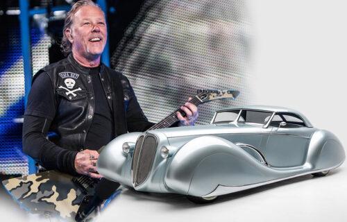 Žestoki rifovi i brzina: Upoznajte automobile Džejmsa Hetfilda, neke je sam dizajnirao (VIDEO)