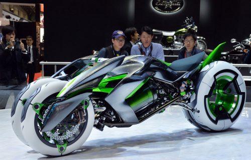 Kawasaki Concept J: Gde je nestao radikalni trotočkaš? (VIDEO)