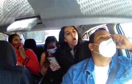 Sećate se antivakserke koja je namerno kašljala na vozača Ubera? UNIŠTILI su je na sudu (VIDEO)