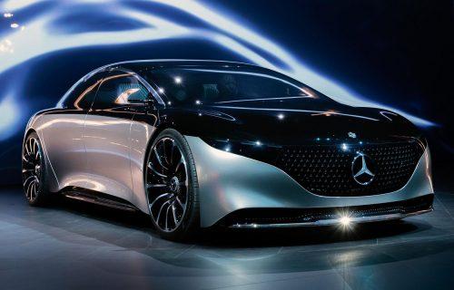 Električno čudo: Mercedes EQS izgleda kao svemirski brod (VIDEO)