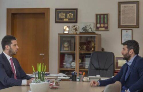 Udovičić primio Šapića: Obavljen konstruktivni i prijateljski razgovor, evo šta je bila tema (FOTO)
