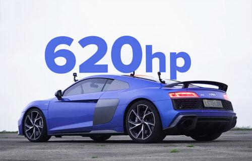 Oktanski spektakl: Na crtu izašli Porsche 911, Nissan GT-R i Audi R8 (VIDEO)