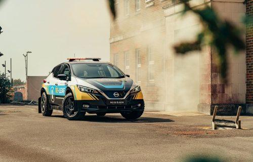 Pomoć na točkovima: Nissan Re-Leaf je mobilni izvor energije (VIDEO)