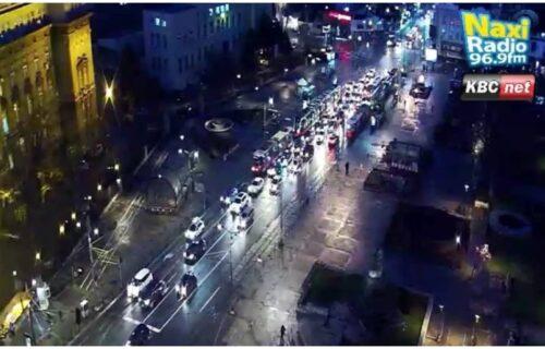 HAOS u prestonici: Udesi i nevreme izazvali gužvu i zastoje u centru Beograda