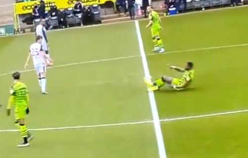 Užasna povreda u Engleskoj: Fudbaler nasred terena polomio šaku na pola (UZNEMIRUJUĆ VIDEO)