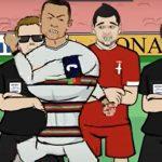 Ronaldu se svi smeju: Nakon histeričnog gesta na Marakani napravljen crtani film o Portugalcu! (VIDEO)