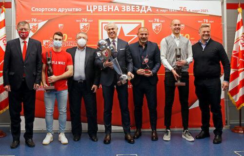 Zvezda proglasila najbolje u 2020. godini: Borjan, Stanković i Stojadinov nagrađeni!