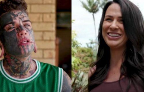 Prekrio tetovaže zbog devojke, pa čak i one sa lica: Njena reakcija zaprepastila je sve (VIDEO)
