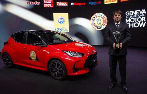 Toyota Yaris je automobil godine u Evropi (VIDEO)