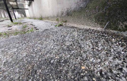 NEVREME pogodilo Smederevo: Oluja LOMILA drveće, leteli limeni krovovi - ulice pod vodom bujicom (FOTO)
