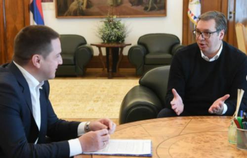 """Vučić se sastao sa Ružićem: """"Razgovarali smo o jednoj od NAJVAŽNIJIH tema za našu Srbiju"""" (FOTO)"""