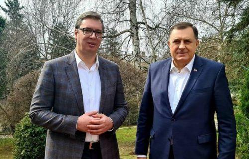 Milorad Dodik: Vučić još jednom pokazao da je čovek mira i dijaloga