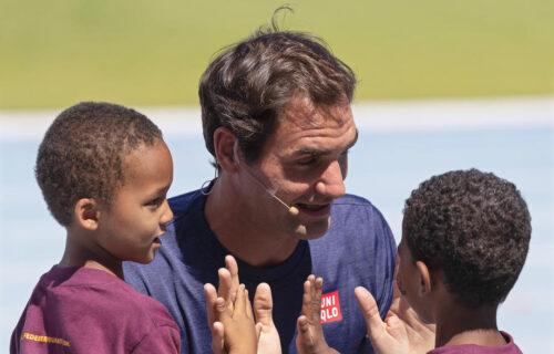 Federer gori od uzbuđenja: Švajcarac poslao poruku teniskom svetu (VIDEO)