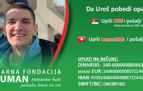 Urošu Jelušiću (26) je potrebna naša POMOĆ: Bori se sa opakom bolešću, ali NADA postoji
