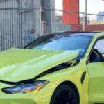 HAOS u centru Beograda: Mladi influenser slupao najnoviji auto od 120.000 €! Šteta je OGROMNA (VIDEO)