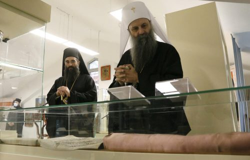 Patrijarh Porfirije otvorio izložbu Muzeja crkvenih starina: Svaki izloženi predmet nosi pečat vere