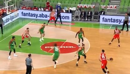 Magija u režiji Ognjena Dobrića: Asistencija u stilu Miloša Teodosića, ovo se retko viđa (VIDEO)