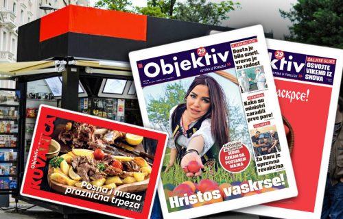 Objektiv daruje! Danas u štampanom izdanju POKLON – kuvar za Veliki petak i Vaskrs! (FOTO)