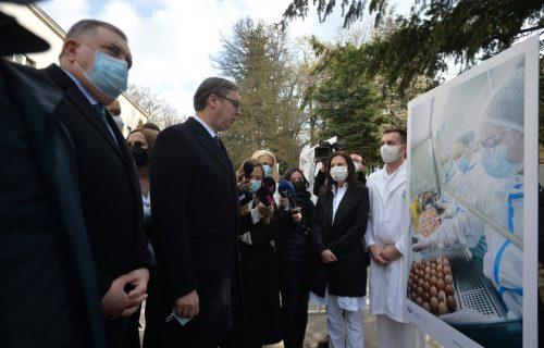 Predsednik Srbije na Torlaku: Prešli smo tri miliona vakcinisanisanih u Srbiji (VIDEO)
