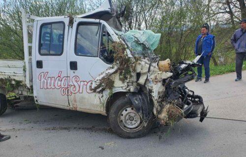 """Nove INFORMACIJE o stanju vozača kamioneta """"Kuća od srca"""": Evo šta se dešava sa Zoranom (31)"""