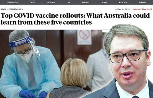 Na listi NAJBOLJIH! Australijski mediji pozivaju vlast da UČI od Srbije, porede nas sa Izraelom (FOTO)