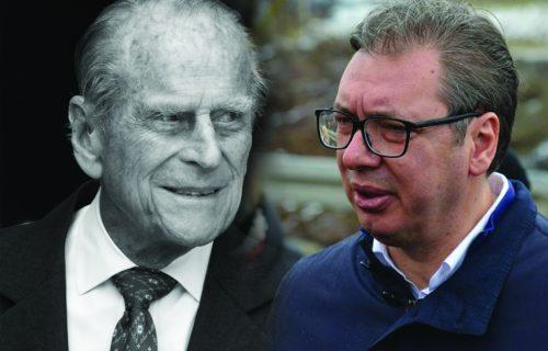 """Predsednik Vučić uputio telegram saučešća: """"Princ Filip je bio oslonac porodice, ali i cele zemlje"""""""