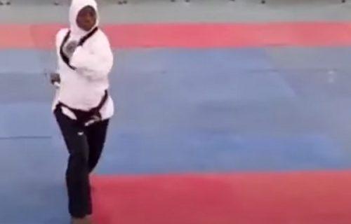 U osmom je mesecu trudnoće, a upravo je osvojila zlatnu medalju sa stomakom do zuba! (VIDEO)