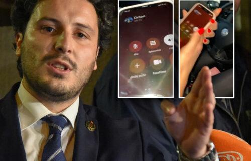 Kakva crna briga za narod! Isplivao INTIMAN SNIMAK razgovora između Dritana Abazovića i devojke (VIDEO)