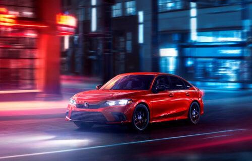 Honda Civic 2022: Nov izgled, unapređen tech i fokus na vožnji (VIDEO)
