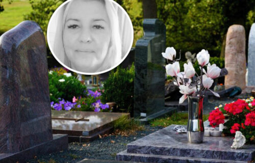 """""""Majko moja, ne idi"""": POTRESNE scene na sahrani Jasmine Mihajlović, ćerka skrhana od bola"""