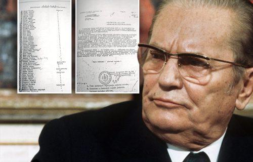 Tito potpisom naredio da DB ubija: Nikad viđen DOKUMENT o paklenoj zaveri UDBE u Jugoslaviji (FOTO)