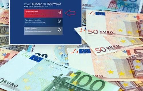 Prijavili smo se za 60 evra: Ovo je UPUTSTVO korak po korak kako da to učinite (FOTO)
