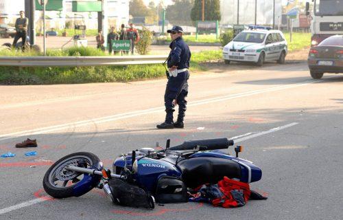 DRAMA kod Arene: Motociklista preleteo ogradu na poligonu za obuku vozača