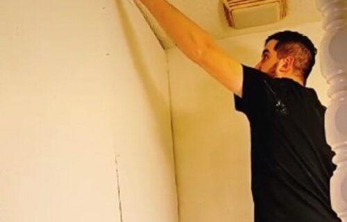 Renovirali sobu, pa iza zida ugledali nešto što ih je zapanjilo: Njihov život više neće biti isti (VIDEO)
