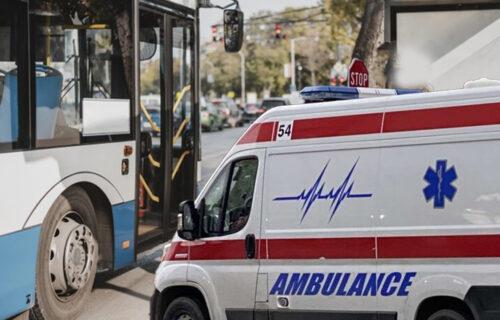 TEŽAK UDES u Valjevu: Vozač autobusa izgubio kontrolu pa udario u kamion, 18 povređenih