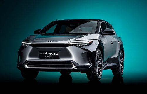Koncept bZ4X: Toyota predstavila PRVI model na struju (VIDEO)