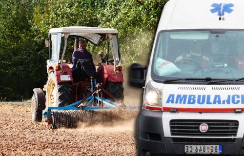 Tragedija kod Nove Varoši: Prevrnuo se traktor, muškarac (60) POGINUO na licu mesta