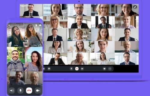 Viber unapredio sistem: Video-pozivi do 30 učesnika i nov interfejs