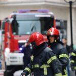 POŽAR u centru Beograda: Zapalio se stan, tri vatrogasna vozila na terenu