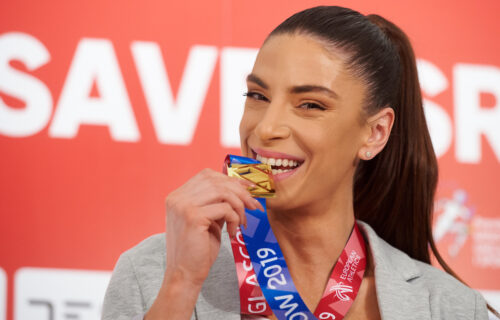 Ivana Španović objavila nestvaran snimak sa venčanja:Transformacija prelepe sportistkinje (VIDEO)